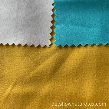 Baumwolle Double Face Solid Fabric